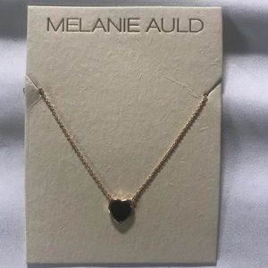 Melanie Auld heart necklace